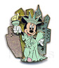 Disney Pin 56409 WOD NYC Minnie Mouse as The Statue of Liberty costume 3-D