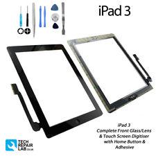 NEUF iPad 3 Vitre frontale complète / Numériseur Écran tactile Assemblage