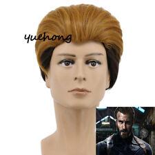 Avengers: Infinity War - Part I /II Captain America Wig Cosplay Costume Wig