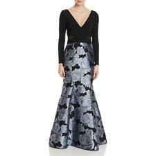 Avery G Womens Brocade Formal Mermaid Evening Dress Gown BHFO 3246