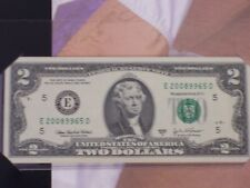 $2.00 from Richmond Fed 2008XXXX Serial number