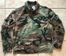 NWT POLO RALPH LAUREN Men's Green Lightweight Camouflage Windbreaker Jacket Med
