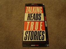 Talking Heads True Stories CD Long Box Only - No Disc - No CD