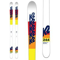 BRAND NEW! 2020 K2 244 MAMBA MOGUL SKIS w/ATOMIC Z12 RED SKI BINDINGS SAVE 35%!