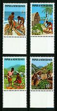 Papua New Guinea 1971 Mi 207-210 Primary industries - MNH
