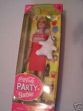 "Coca-Cola PARTY BARBIE,  nrfb, ""HEY LET'S PARTY"" 1998"