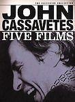 John Cassavetes: Five Films (DVD, 2004, 8-Disc Set, Special Edition)
