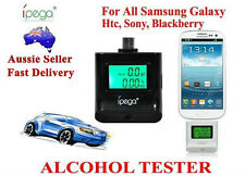 New Alcohol Breath Tester For All Samsung Galaxy,HTC,Blackberry,Sony LCD Screen