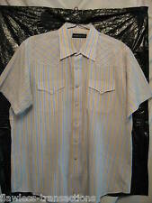 PANHANDLE SLIM Vintage Mens Western Square Dancing Pearl Snap Shirt Size XL NEW
