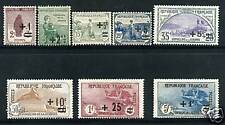 TIMBRES N° 162-169 NEUF ** - GOMME D'ORIGINE