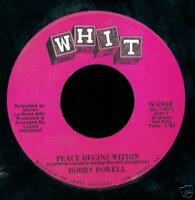 Bobby Powell SOUL 45 Question / Peace Begins Within WHIT soul bb1652