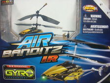 NKOK R/C 3.5CH HELICOPTER AIR BANDITZ IR NEW GOLD 7301