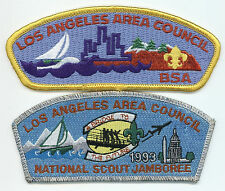 LOT OF 2 CSP/JSP - LOS ANGELES AREA COUNCIL - S-1 & 1993 NJ - MERGED IN 2015