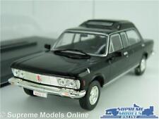 FIAT 130 POPEMOBILE MODEL CAR 1:43 SCALE BLACK LIMOUSINE + DISPLAY CASE KULTOW K