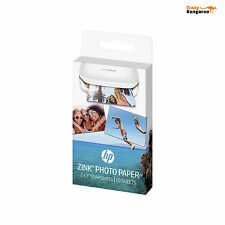 Neuf HP ZINK Papier Photo 5 x 7,6cm pour HP Sprocket Photo Printer (20 feuilles)