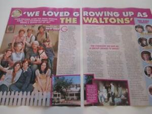 THE WALTONS*June 2021*Magazine Clipping*Richard Thomas Eric Scott Kami Cotler*