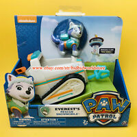 PAW Patrol Everest's Rescue Snowmobile Nickelodeon Snowmobile Model Car Kids Toy