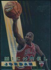 1996-97 BOWMAN'S BEST MICHAEL JORDAN BEST SHOTS ACETATE INSERT CARD #BS6  NM-MT