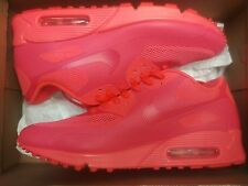NIKE AIR MAX 90 HYP PRM SOLAR RED Size 10.5  454446-600