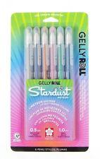 Sakura 37904 Gelly Roll Stardust Meteor Pens Set 6 Sketch Drawing Art Craft NEW