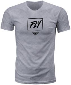 FLY RACING FLY ZOOM TEE - GREY