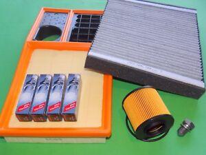 gr. Inspektionspaket Filterset Seat Ibiza 6J 1.6 16V 77kW/105PS MKB: BTS, CLSA