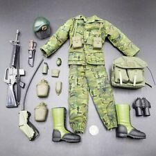 "1:6 Ultimate Soldier Vietnam Green Beret Uniform Lot 12"" GI Joe Dragon 21 Toys"