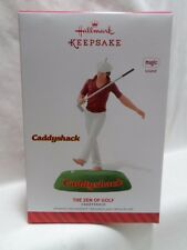 2014 Hallmark Keepsake Ornament The Zen of Golf Caddyshack Magic Sound Loc B18