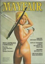 MAYFAIR MEN'S VINTAGE MAGAZINE JANUARY 1975
