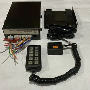 Used Federal Signal AS-422/6s GB Control Unit With Keypad Build In Siren & PA