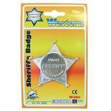 Peterkin - Die Cast Sheriff's Badge - Brand New