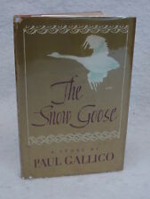 Paul Gallico  THE SNOW GOOSE Alfred A Knopf 1966 HC/DJ