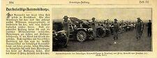 Parade des freiwilligen Automobilkorps im Hamburg vor Prinz Heinrich 1905