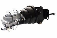 74-86 Jeep CJ Aluminum Master Cylinder & Proportioning Valve & Black Booster Kit