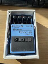 Boss CEB-3 Bass Chorus Effects Pedal CEB3
