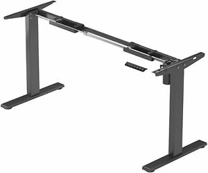 "Adjustable Electric Table Lift Desk Frame, 25.5"" Stroke - FLT-20 (Economy Ryzer)"