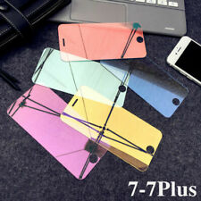 Mirror Tempered Glass Screen Protector Protective Full Cover For iPhone 5 6 7 8