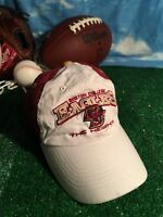 NEW HAT CAP TOW NCAA BOSTON COLLEGE EAGLES The Heights WHITE ADJUSTABLE H12