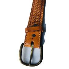 Tony Lama USA Made Brown Leather Belt Size 30 Men