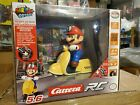 Super Mario Carrera RC Radio 2.4 Ghz Control Odyssey Scooter Official Licensed