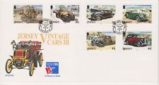 Unaddressed Jersey FDC First Day Cover 1999 Vintage Cars III Set 10% off 5