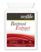 Zestlife Beetroot Extract 2125mg 60 capsules for circulation & blood pressure