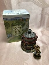 New listing Boyds Bears Route 33 1/3 Hero's Hook & Ladder Fire House ~ 1E
