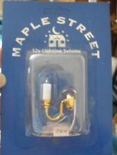 Dollshouse Miniature   ~ CANDLE ~ 12v  Wall  Light