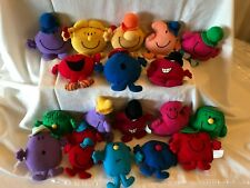 More details for vintage mcdonald's happy meal toys 1999 mr men little miss soft toys