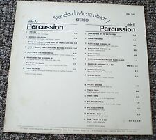 Standard Music Library Percussion / Percussion  1971 ESL116 M. Hunter, J.Gregory