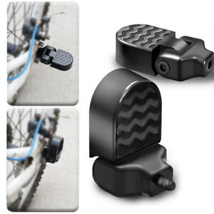 Bicycle Alloy Foot Stunt Pegs Footrest Lever Pedals MTB BMX Trick Nuts Grip Axle