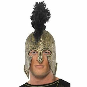 Adult Achilles Helmet Greek Warrior Ancient Greece Fancy Dress Party Accessory