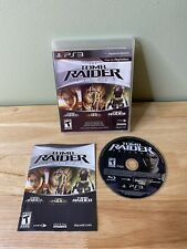 The Tomb Raider Trilogy (Sony PlayStation 3 Ps3, 2011) Free Shipping