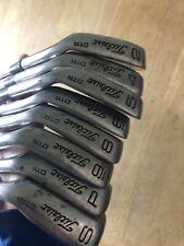 Titleist DTR 2-PW Iron Set Steel Stiff Shaft, Right Handed